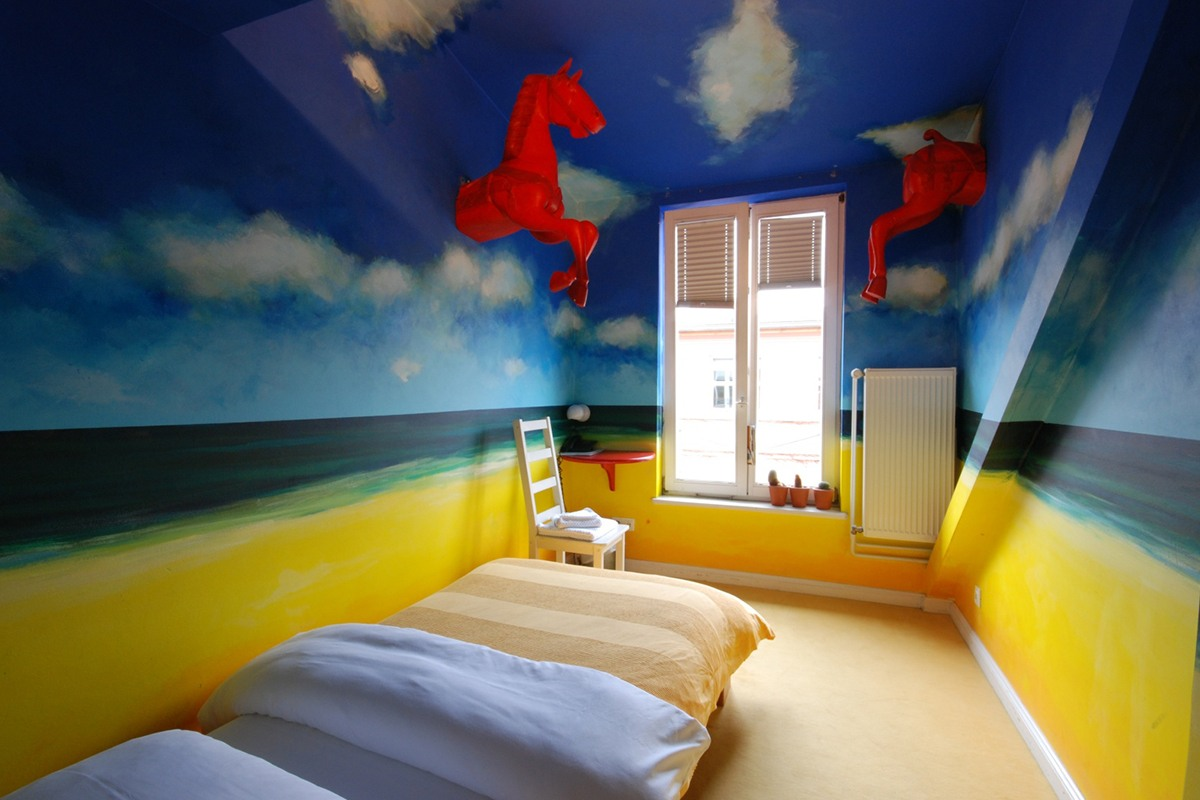 guide to the coolest art hotels in berlin. Black Bedroom Furniture Sets. Home Design Ideas