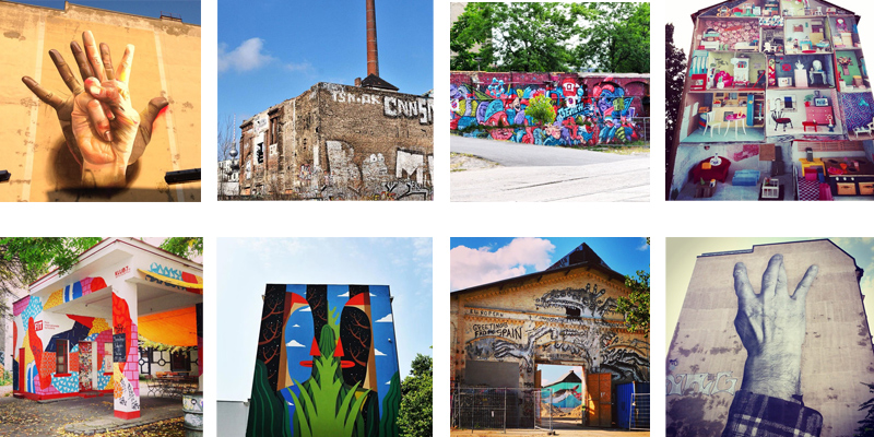 Cas Maclaim - Eisfabrik- PeachBeach- Marlene Hausegger-Klub7-AgostinoLacurci-RallitoX-JR ©Berlin Street Art