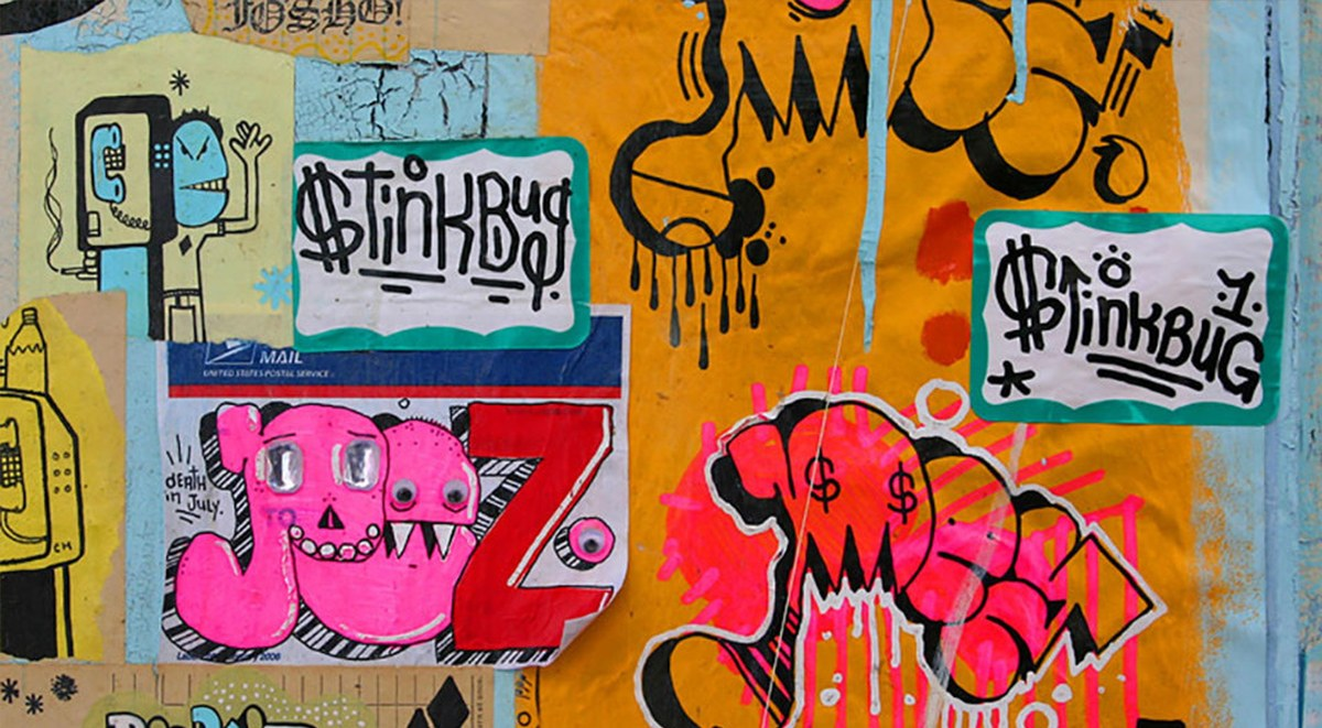 Stickers Street Art street art sticker as the favorite quick graffiti solution | berlin